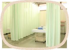 長野市青木島にあるあおきじま整骨院の診療室